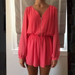 Brand new with tags coral express romper